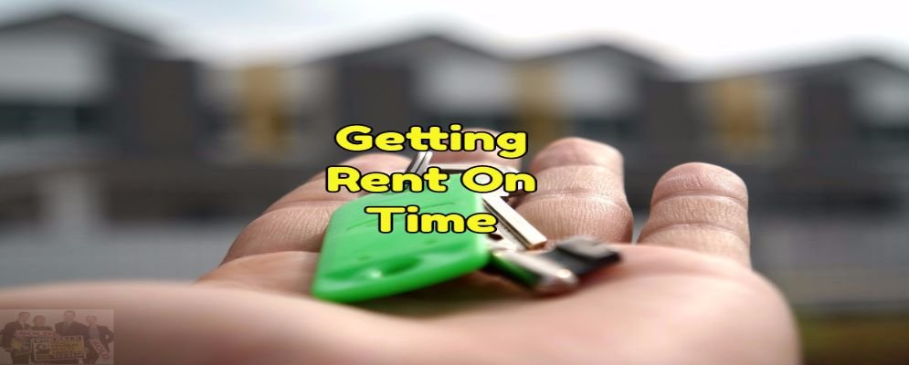 get rent on time