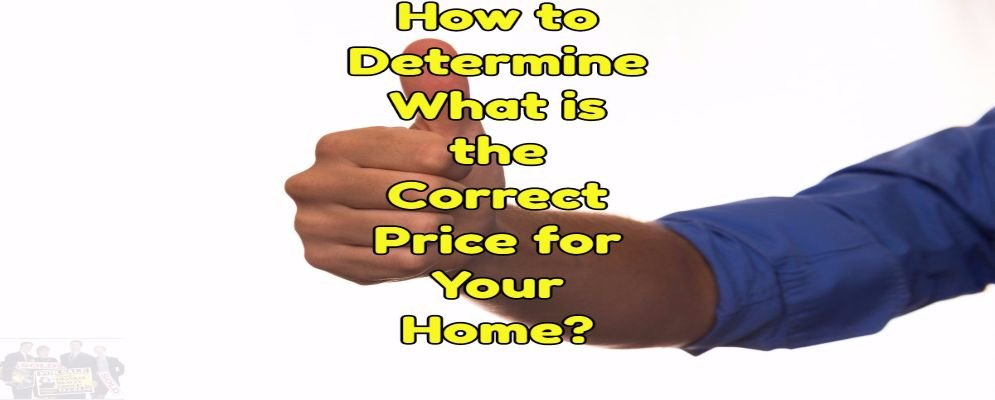 the correct price to sell your home