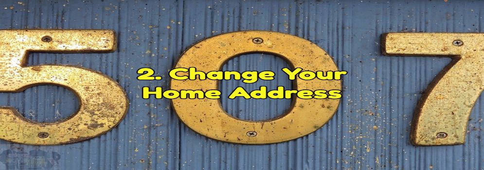 change your home address