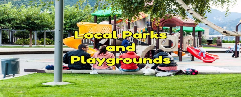 give info on local parks and playgrounds
