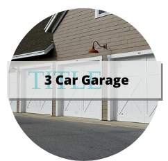 3 car garage homes