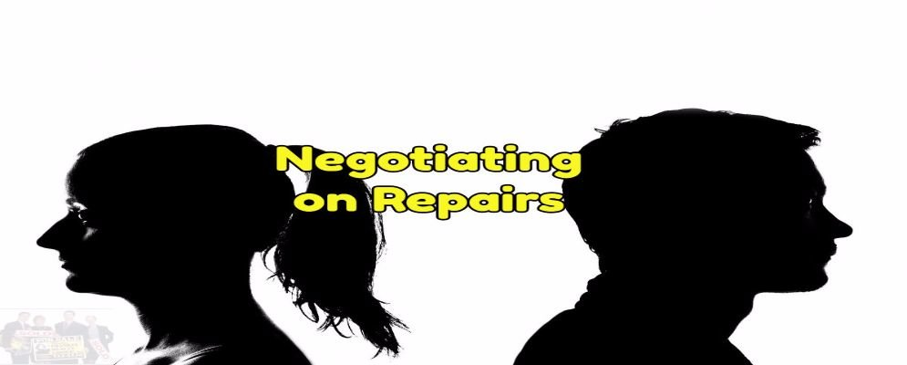 negotiating your repairs