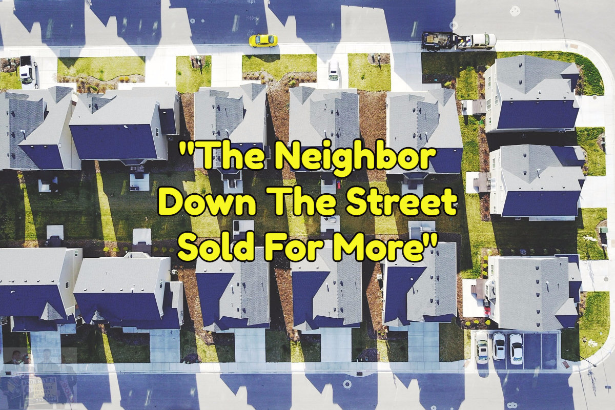 Your neighbors sale effect your home's value