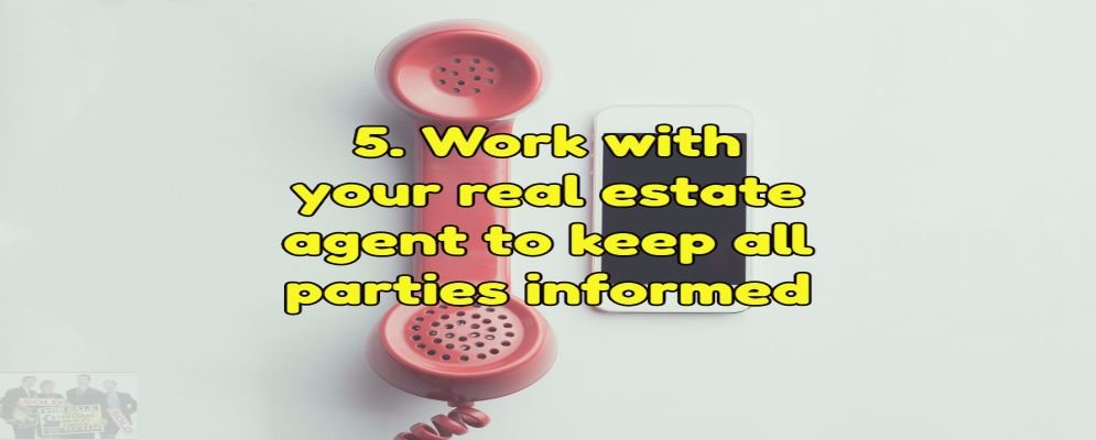 work with your realtor