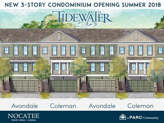Tidewater Condos For Sale At Nocatee Ponte Vedra Fl