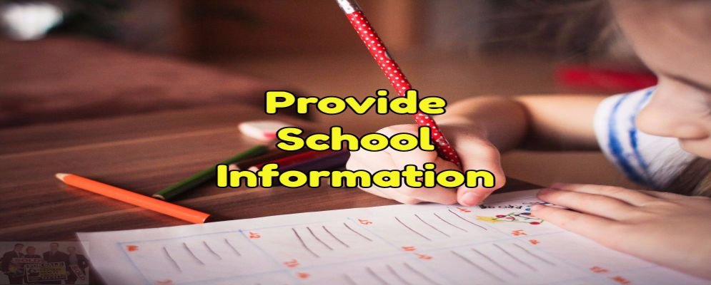 provide your buyer with school information