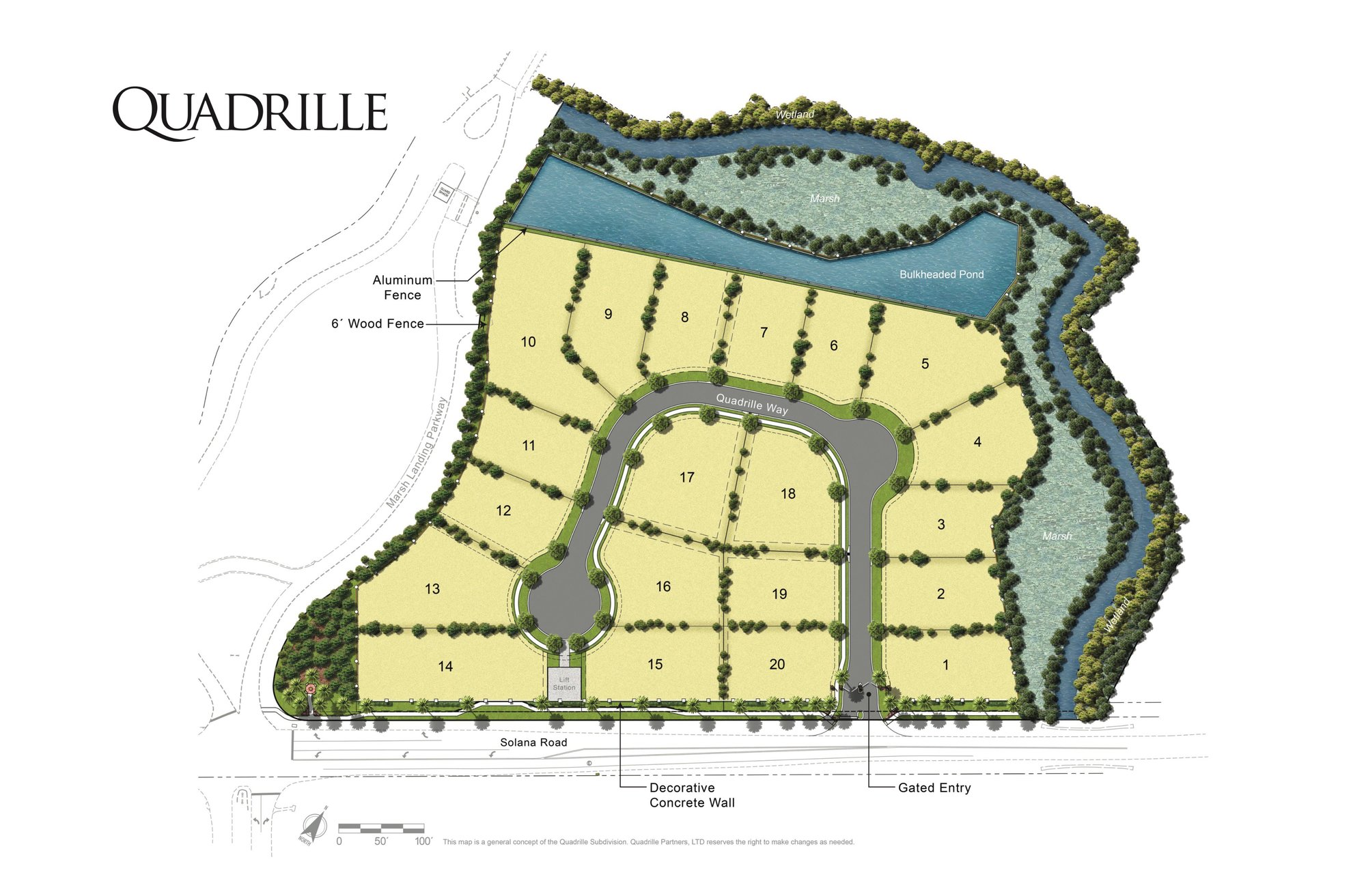 Quadrille Ponte Vedra Beach Homes for Sale