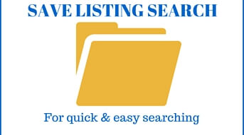 Save your listing searches to be sent new properties