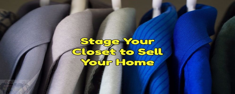 stage your closet to sell your home