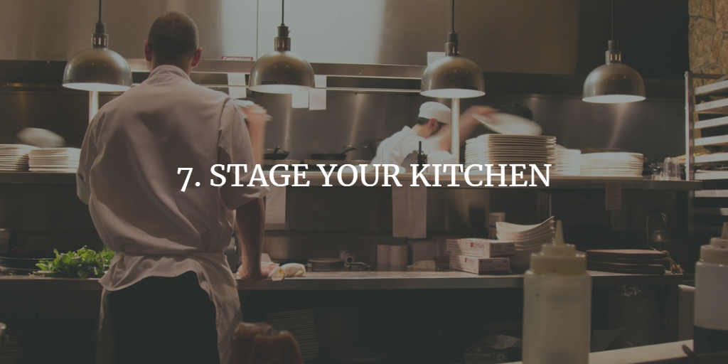 STAGE YOUR KITCHEN