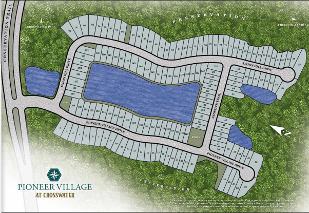 pioneer village at crosswater nocatee neighborhood plan