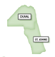 Duval and St. Johns County
