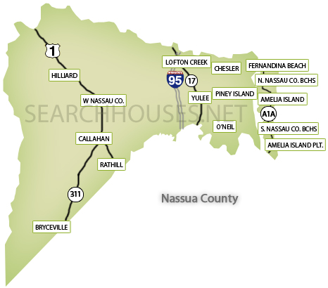 Maps Of Northeast Florida Search Areas By County Maps