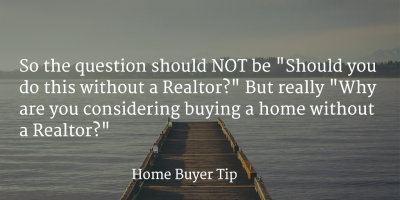Why To Use a Realtor